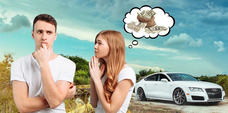 Супруга просит продать машину