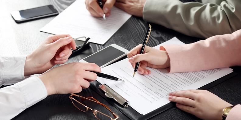 Подписание сделки