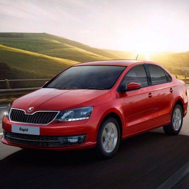 9. Škoda Rapid продано 35 089