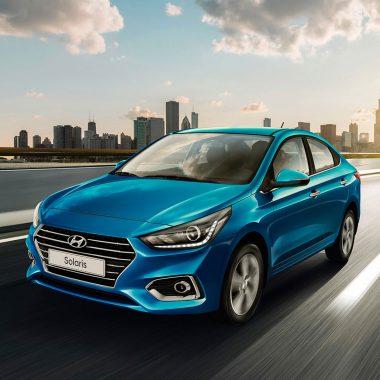 4. Hyundai Solaris продано 33 857